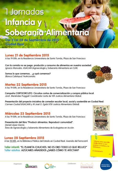 Jornadas Infancia y Soberanía Alimentaria